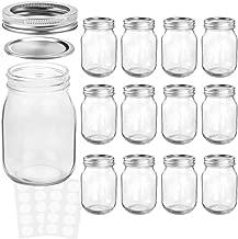Best 12 oz plastic mason jars Reviews
