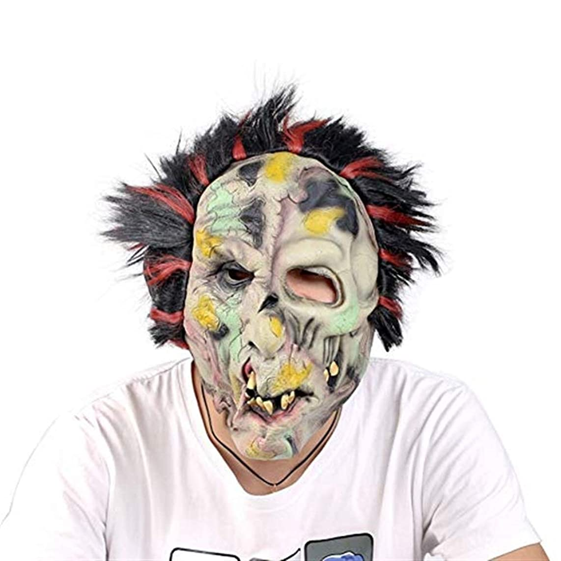 Halloween mask Halloween Party Masks Latex Mask Old Man Latex Mask for Masquerade Halloween Costume Party Supplies Mask mask