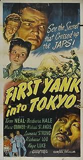First Yank Into Tokyo Movie Poster (27 x 40 Inches - 69cm x 102cm) (1945) -(Tom Neal)(Barbara Hale)(Marc Cramer)(Richard Loo)(Keye Luke)