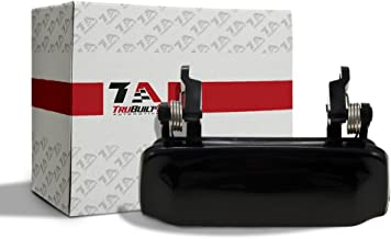 T1A Exterior Door Handle Replacement for 1998-2001 Ford Explorer, Also Fits 2001-2002 Explorer Sport, 2001-2005 Explorer Sport Trac, 1998-2001 Mercury Mountaineer, Black Color, T1A 2L2Z7822404AAPTM