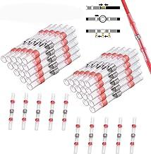 CTRICALVER juntas de alambre soldadas y selladas, 40 juntas a tope termocontraíbles a prueba de agua, terminales de cable,...