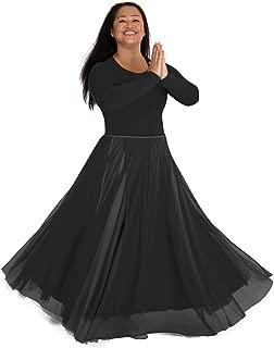 Adult Long Full Chiffon Skirt - 538