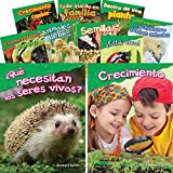 What do living things need to grow? How do animal parents raise their babies? How does a seed become a plant? Introduce kindergarten and first grade students to life science topics with this colorful 10-book set Learn about growth and change, living ...