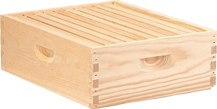 Little Giant Farm & Ag Medium MEDBOX10 Honey Super Hive Frame, Medi, Natural