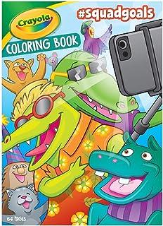 Crayola - #SquadGoals Coloring Book