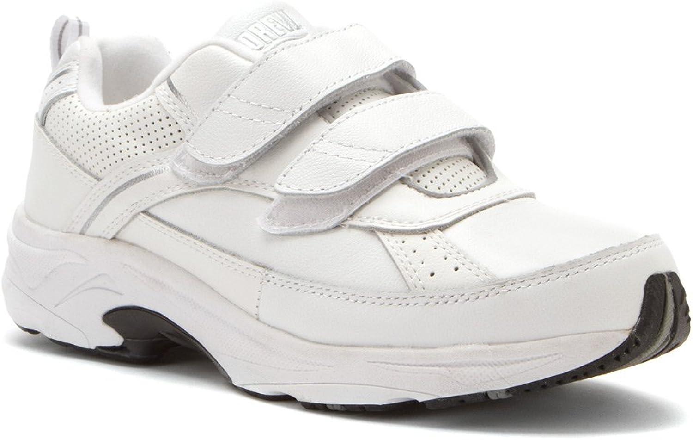 Drew shoes Men's Jimmy White Running Sneakers 9 4W
