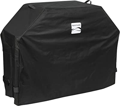 """Kenmore PA-20284-AM 65"""" Water Repellant Grill Cover, Large, Black"""