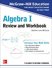 McGraw-Hill Education Algebra I Review and Workbook PDF