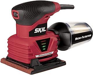SKIL 7292-02 2.0 Amp 1/4 Sheet Palm Sander with Pressure Control
