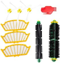 Dolloress Bristle Brushes/Side Brushes/Filters/Cleaning Tools Replacement Kit Compatible with Irobot Roomba 500 Series 530...