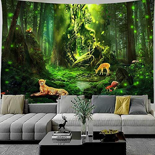 KHKJ Tapiz de Pulpo AbstractHippe tapices de Pared para Colgar en la Pared para Sala de Estar Dormitorio decoración del hogar A4 95x73cm
