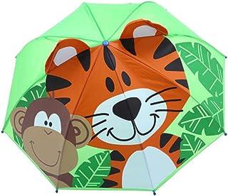 Baby Cover Parasol for Sun Rain Protection UV Rays 3D Cartoon Outdoor Umbrella Wind Resistant Folding Umbrella Rain Windproof,G