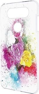 スマホケース ハードケース LG V20 PRO L-01J 用 [水彩画・花柄 バラ] ビンテージ デッサン エルジー ブイトゥエンティ プロ docomo スマホカバー 携帯ケース 携帯カバー vintage_00r_h162@05