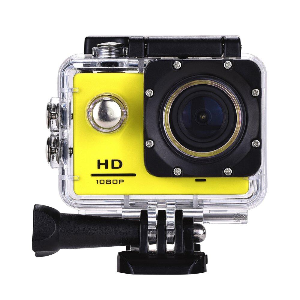 Lyhoon 1080P Cámara deportiva HD 2.0 impermeable Pantalla 30m bajo el agua 120 grados de la