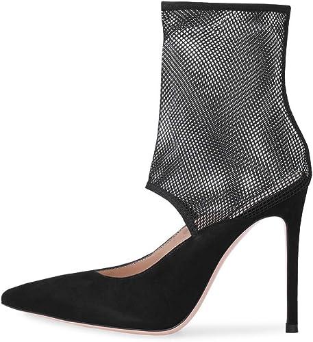Bottillons élégant Talon Aiguille Aiguille Mode Bout Pointu,MWOOOK-502 Sexy Fête Soirée Mariage Sandales  les ventes chaudes