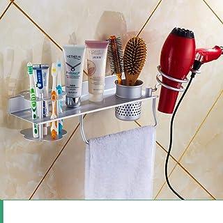 CHUTD Support de sèche-Cheveux, étagère pour sèche-Cheveux, Support de sèche-Cheveux, Support de sèche-Cheveux, WC Support...