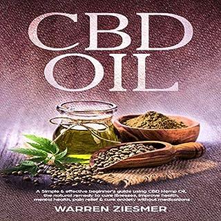 CBD Oil audiobook cover art