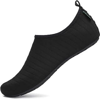 2b75e993ec SAGUARO Chaussures Aquatiques Chaussures d'eau Chaussons de Plage Yoga Surf  Nager Sport Aquatique Plongée