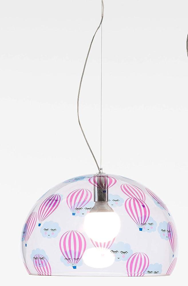 Kartell lampada a sospensione, mongolfiera 09830JJ