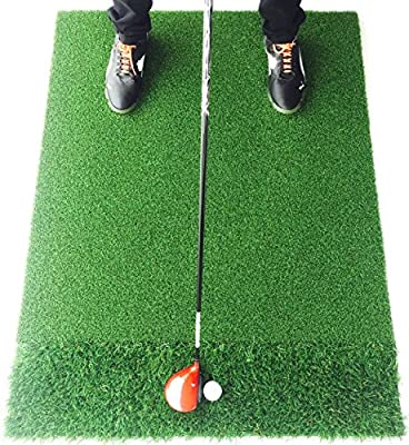 StrikeDown Dual Turf Pro Golf Hitting Mat