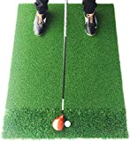 Motivo Golf StrikeDown Dual-Turf Pro Golf Hitting Mat (3 x 4 Feet) Free Two-Day Delivery