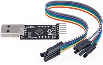 KEDSUM® CP2102 Module STC Download Cable USB 2.0 to TTL 6PIN Serial Converter For STC