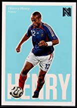 Soccer Pro 2017 Panini Nobility #93 Thierry Henry SP