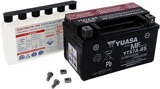 Yuasa Batería YTX7A-BS de BS ácido para Kymco Jockey 125125CCM Diseño Año 99[Incluye 7,50Euros batería pfand]