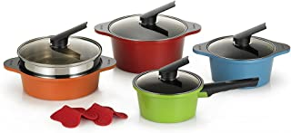 Happycall Alumite Die Cast Pots and Steamer Set, 4 Pieces