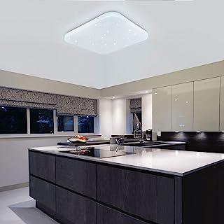 Plafonnier LED Salle de bains Cuisine Chambre à coucher Plafonniers Douche Salon d'étude Salle à manger Bureau Balcon Coul...