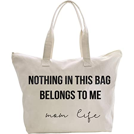 Mom Tote Bag  My Mom Bag Funny Mom Tote Funny Gift for her Mothers Day Gift New Mom Gift Baby Shower Gift