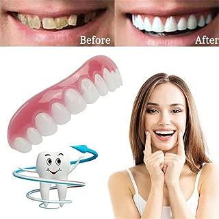 Inverlee Comfort Fit Teeth Top Cosmetic Veneer One Size Fits All (White)