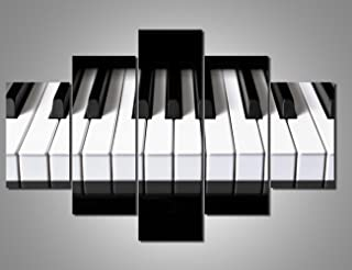 Art Work for Home Walls Musical Paintings Piano Keyboard Pic
