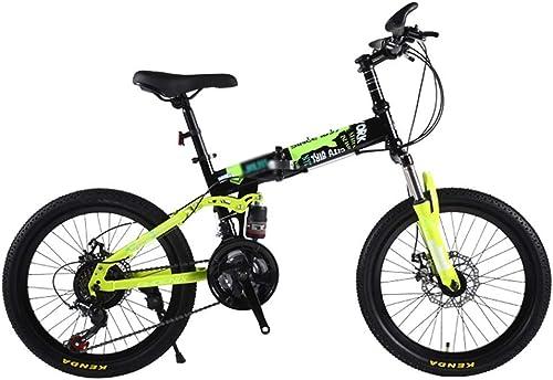 ETZXC Kinderfürr r Kinder Outdoor 20 Zoll Mountainbike Travel Folding Kinderfürrad Jungen und mädchen Berg 315 Jahre altes fürrad