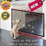 Magic Gate Pet Dog Safe Guard, Barrière de Sécurité Chien, Portable Pliable Installer n'importe...