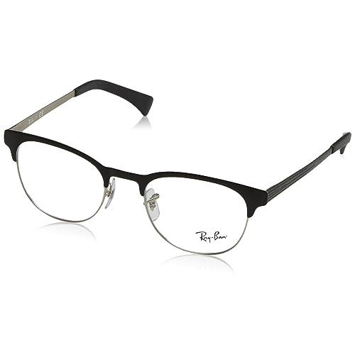 0cab66cf83fd Ray Ban Clubmaster Eyeglasses  Amazon.com
