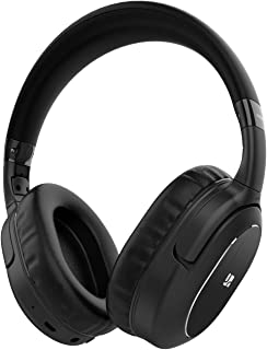 Active Noise Cancelling Headphones,Bluetooth Headphones Over Ear Headphones Hi-Fi Sound Deep Bass,Wireless Headset,Quick C...