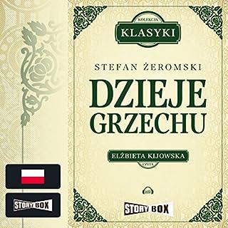 Dzieje grzechu audiobook cover art