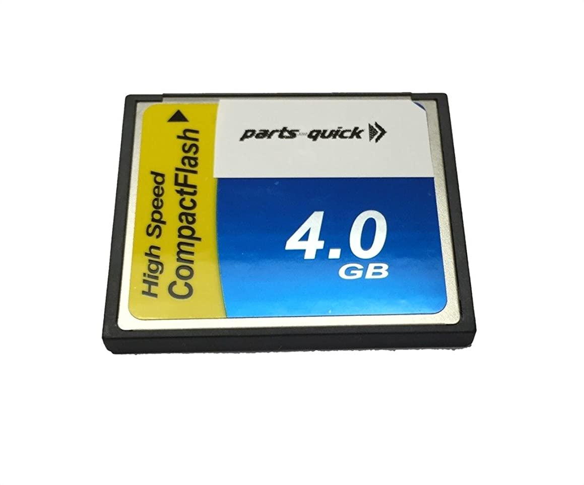 4GB Memory Card for Sony Alpha DSLR A300 Compact Flash CF (PARTS-QUICK)