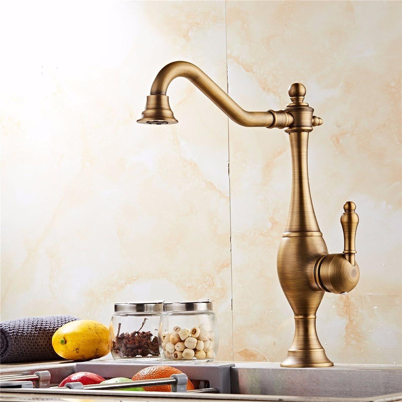 Bijjaladeva Antique Bathroom Sink Vessel Faucet Basin Mixer Tap The copper hot and cold antique faucet basin bathroom kitchen Hotel