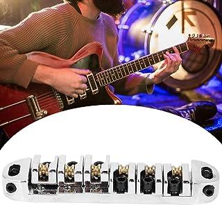 Electric Guitar Part, Electric Guitar Bridge, Firm for Guitar Beginner(Chrome)
