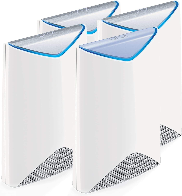 NETGEAR Orbi Pro AC3000 Business Mesh WiFi System, 4-Pack, Wireless Access Point (SRK60B04)