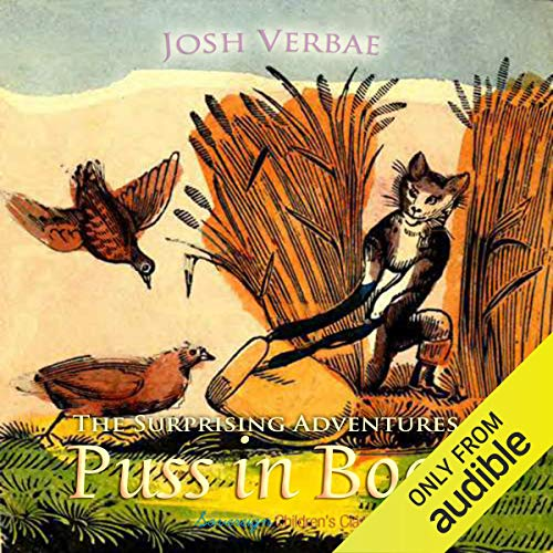 The Surprising Adventures of Puss in Boots audiobook cover art
