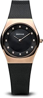 Bering Women's Analogue Quartz Watch with Stainless Steel Strap 11927-166