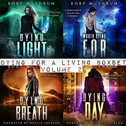 Dying for Living Boxset Vol. 2 : Books 4-7 of Dying for a Living Series (Binge Bundle) cover art