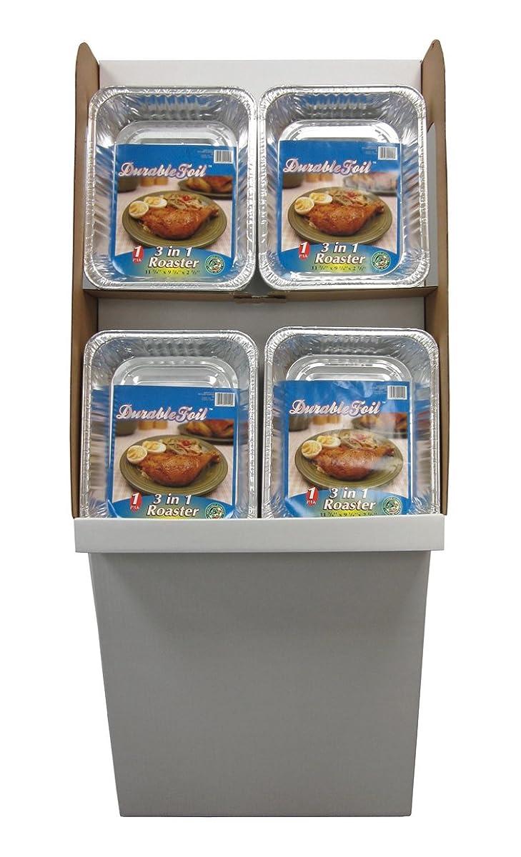 Durable Foil 3-in-1 Aluminum Roasting Pan (Pack of 96)
