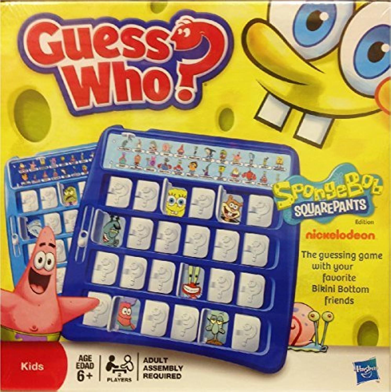 Sponge Bob Guess Who by Spong Bob Square Pants Guess Who