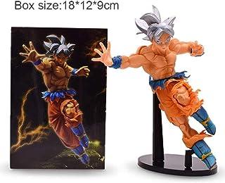 DBZ grandista risoluzione dei soldati Son Goku Ultra istinto Figura Giocattolo SENZA SCATOLA