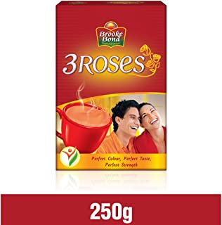 Brooke Bond - 3 Roses Tea - 250 Grams X 4 Pack