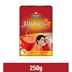 Brooke Bond 3 Roses Tea, 250g